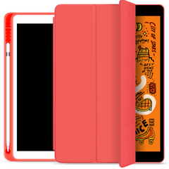 Чехол STR Trifold Pencil Holder Case PU Leather for iPad Pro 12.9 (2020) - Red, цена | Фото