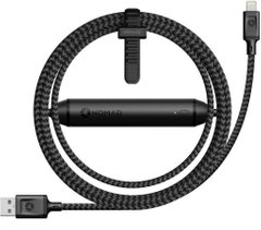 Кабель Nomad Battery Cable Balck (1.5 m) (BATTERY-CABLE-LIGHTNING), цена | Фото