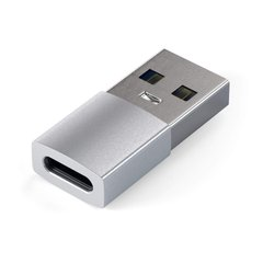 Переходник Satechi Type-A to Type-C Adapter Silver (ST-TAUCS), цена | Фото