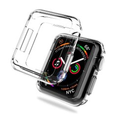 Чехол HOCO TPU Watch Cover for Apple Watch 2/3 Series 38 mm - Clear, цена | Фото