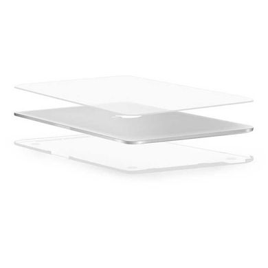 Накладка WIWU iSHIELD Hard Shell for MacBook Pro 13 (2020) - Transparent, цена | Фото