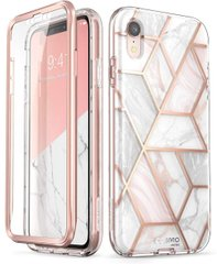 Чохол i-Blason Cosmo Series Clear Case for iPhone XR - Marble (IBL-IPHXR-COS-M), ціна | Фото