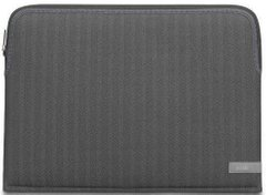 "Чехол Moshi Pluma Designer Laptop Sleeve Herringbone Gray for MacBook Pro 15""/16"" (99MO104055), цена 