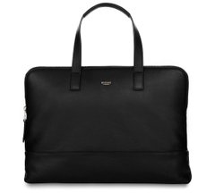 Сумка Knomo Reeves Slim Briefcase 14' Black (KN-120-102-BLK), цена | Фото
