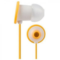 Наушники Moshi MoonRock Personal In-Ear Headphones Gold Yellow for iPad/iPhone/iPod (99MO035721), цена | Фото