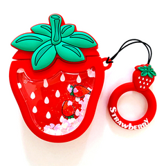 Чехол для AirPods STR Fruits Case - Strawberry, цена | Фото
