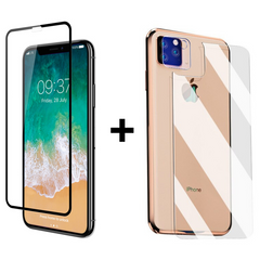 Защитное стекло JINYA Defender 3 in 1 set for iPhone 11 Pro (JA6111), цена | Фото