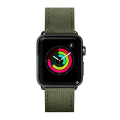 Ремешок LAUT TECHNICAL для Apple Watch 42/44 mm - Military Green (LAUT_AWL_TE_BK), цена | Фото