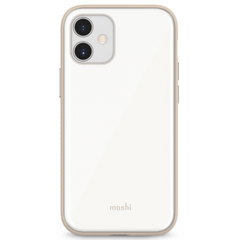 Чехол Moshi iGlaze Slim Hardshell Case Pearl White for iPhone 12 mini (99MO113106), цена | Фото