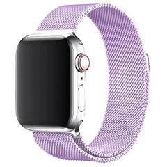 Ремешок STR Milanese Loop Band for Apple Watch 38/40 mm - Violet, цена | Фото