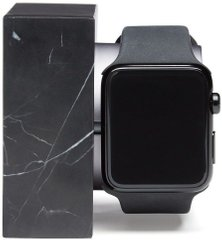 Native Union Dock for Apple Watch Marble Edition (DOCK-AW-MB-BLK), цена | Фото