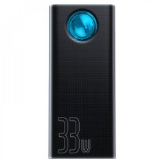 PowerBank Baseus Amblight Digital Display 33W (PD3.0+QC3.0) 30000mAh - Black (PPLG-01), цена | Фото