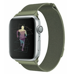 Ремешок STR Milanese Loop Band for Apple Watch 42/44 mm - Soft Blue, цена | Фото