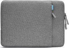 Чехол Tomtoc 360° Sleeve for MacBook Pro 13 (2016-2020) / Air 13 (2018-2020) - Gray (A13-C02G), цена | Фото