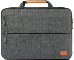 Чехол-сумка WIWU Smart Stand Sleeve for MacBook 13.3 inch - Gray, цена | Фото