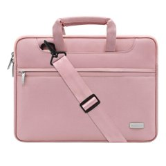 Сумка MOSISO Pattern Laptop Shoulder Bag for MacBook 13.3 inch - Pink, цена | Фото