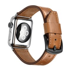 Ремешок JINYA Classic Leather Band for Apple Watch 38/40 mm - Brown (JA4116), цена | Фото