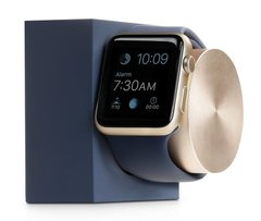 Док-станция Native Union Dock for Apple Watch Stone/Rose Gold (DOCK-AW-SL-STO), цена | Фото