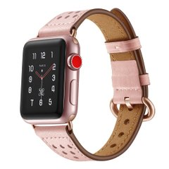 Ремешок JINYA Luna Leather Band for Apple Watch 42/44 mm - Rose Gold (JA4120), цена | Фото
