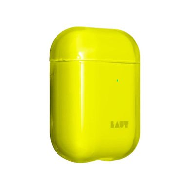 Чехол LAUT Crystal X Protective Case for AirPods - Acid Yellow (L_AP_CX_Y), цена | Фото