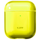 Чехол LAUT Crystal X Protective Case for AirPods - Acid Yellow (L_AP_CX_Y), цена | Фото 1