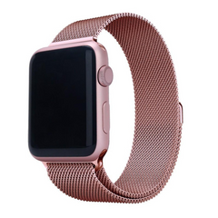 Ремешок STR Milanese Loop Band for Apple Watch 42/44 mm - Pine Green, цена | Фото