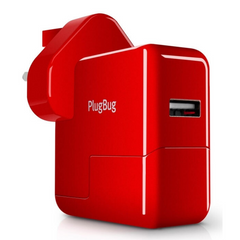 Зарядное устройство Twelvesouth PlugBug World White/Red (2.1 A) (TWS-12-1211), цена | Фото
