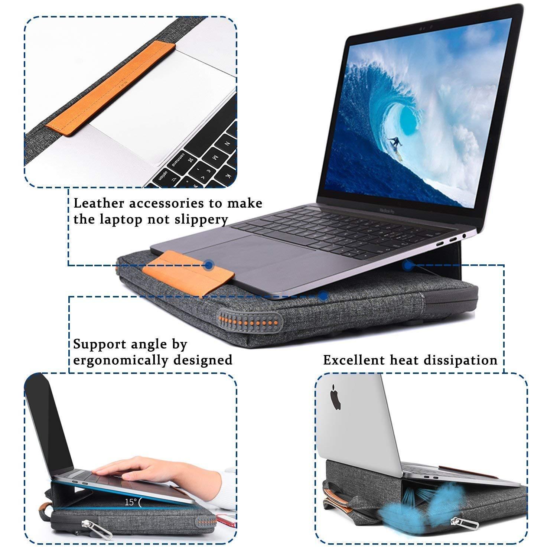 Чехол WIWU Smart Stand Sleeve for MacBook Air / Pro 13 - Gray