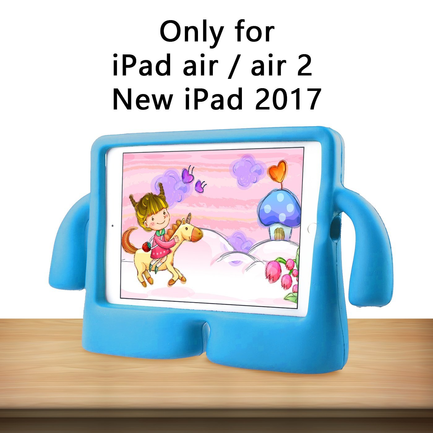 Чехол FUN Kid-Friendly Case for iPad Air / Pro 9.7 / New 9.7 (2017/2018) - Blue
