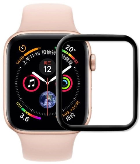 Защитное стекло STR Tempered Glass 4D for Apple Watch 4 Series 40 mm