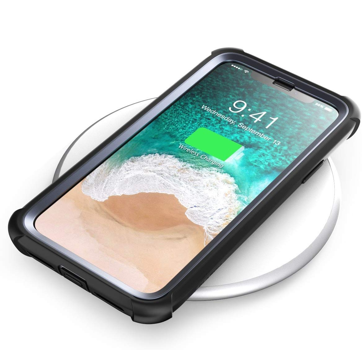 Чехол i-Blason Ares Series Clear Case for iPhone XR - Black (IBL-IPHXR-ARS-BK)