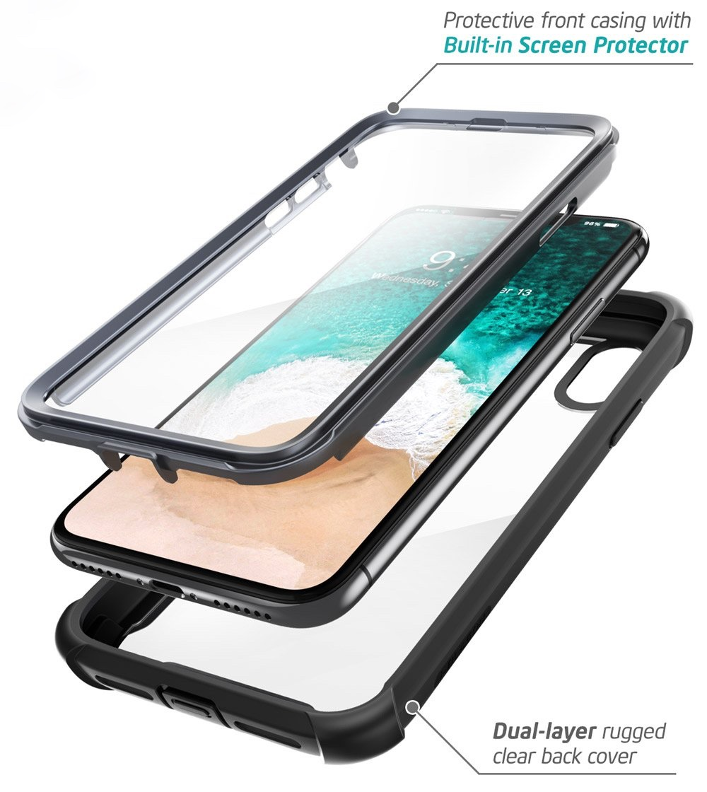Чехол i-Blason Ares Series Clear Case for iPhone XR