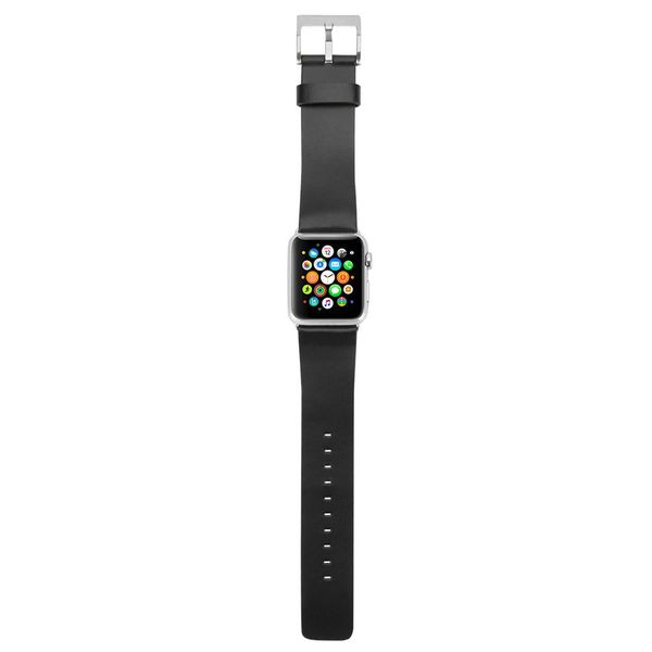 Ремешок Incase Leather Band for Apple Watch 38/40 mm - Black (INAW10010-BLK)