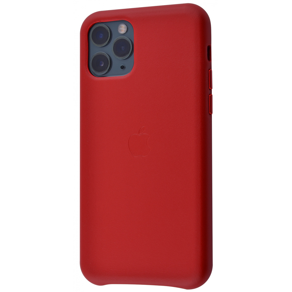 Чехол STR Leather Case for iPhone 11 Pro - Red (Лучшая копия)