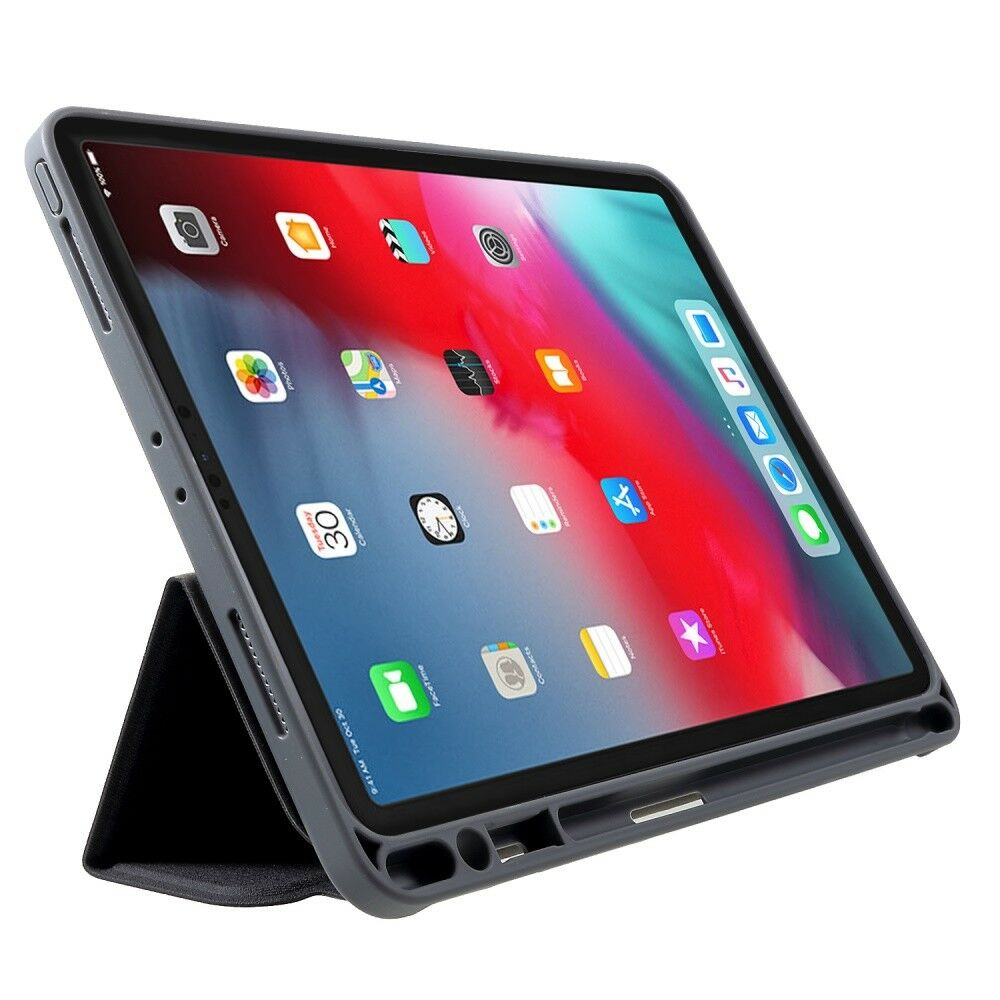 Чехол Mutural Leather Case for iPad Pro 12.9 (2018) - Black