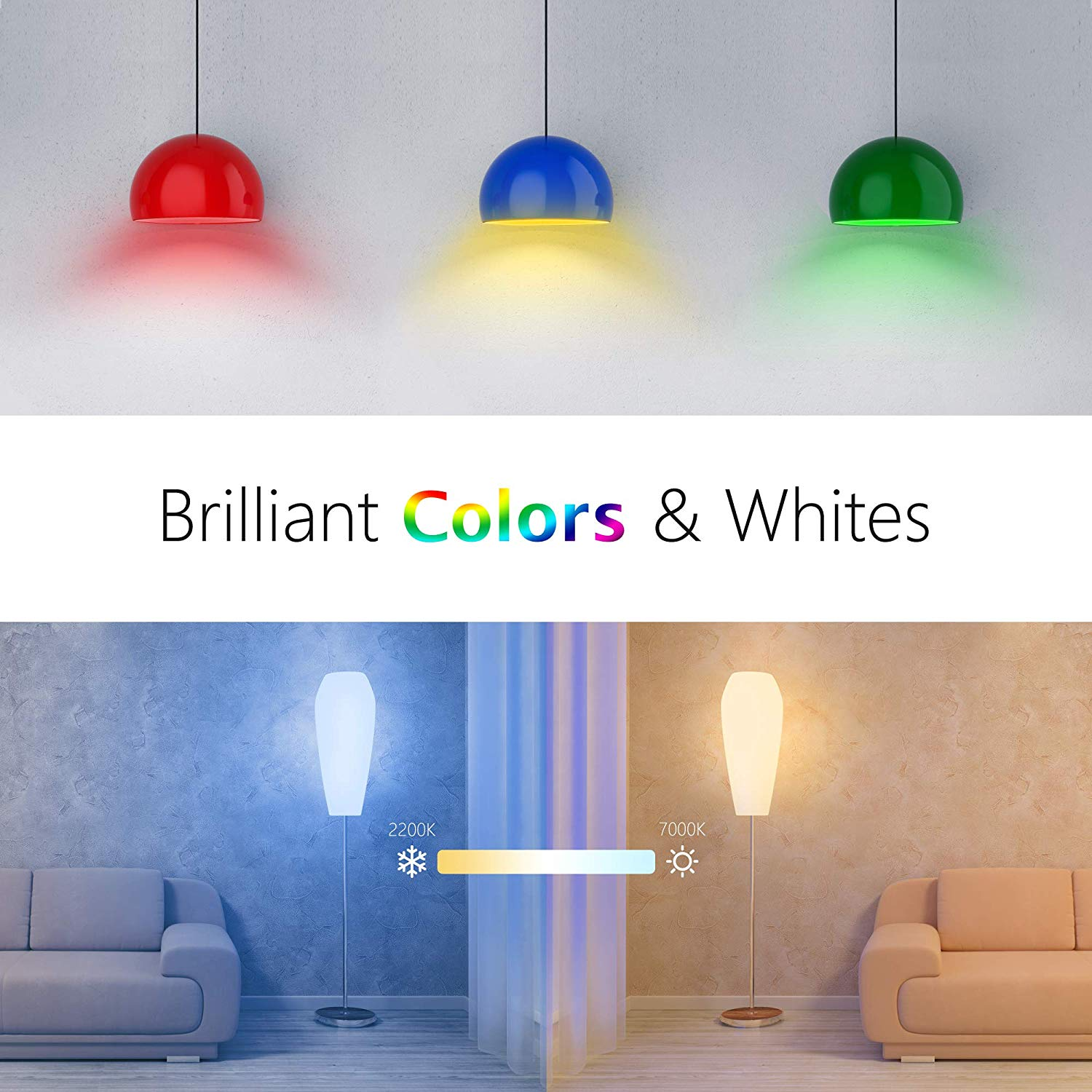 Умная лампа VOCOlinc Smart Light Bulb Color (L3)