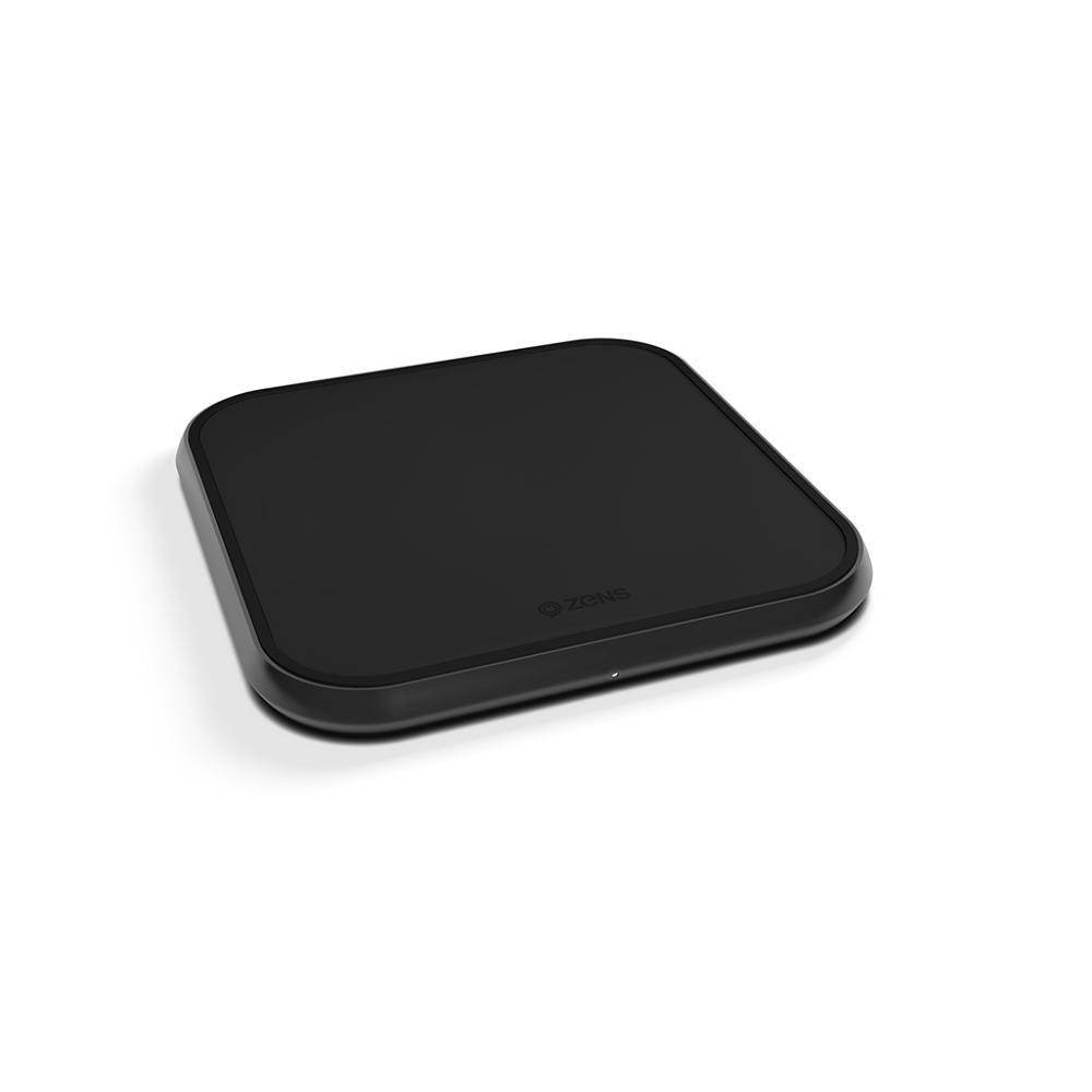 Беспроволное З/У Zens Single Aluminium Wireless Charger 10W Black (ZESC11B/00)