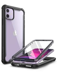 Чехол i-Blason Ares Series Clear Case for iPhone 11 - Black (IBL-IPH11-ARS-BK), цена | Фото