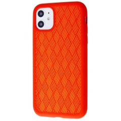 Чехол STR Silicone Weaving Case iPhone 11 (red), цена | Фото
