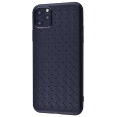Чехол STR Weaving Case (TPU) iPhone 11 Pro Max (black), цена | Фото