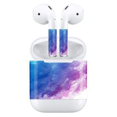 Наклейки для AirPods AHASTYLE Stickers for Apple AirPods - Red (AHA-01130-RED), цена | Фото