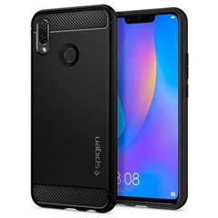 Чехол Spigen для HUAWEI nova 3i/P smart+ Rugged Armor Black, цена | Фото