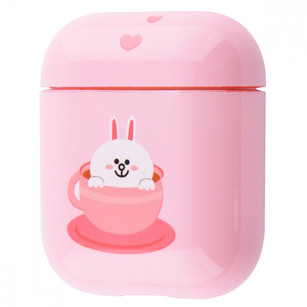 Чехол STR Fairy Tale Case for AirPods - Pink/Gray (22875), цена | Фото