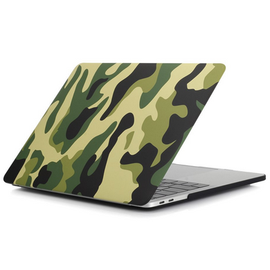 Накладка STR Pattern Hard Shell Case for MacBook Pro 13 (2016-2019) - Black Flower, цена | Фото