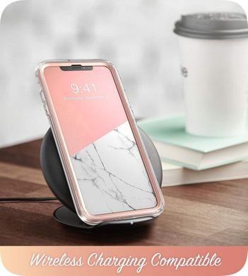 Чехол i-Blason Cosmo Series Clear Case for iPhone X/Xs - Marble (IBL-IPHX-COS-M), цена | Фото
