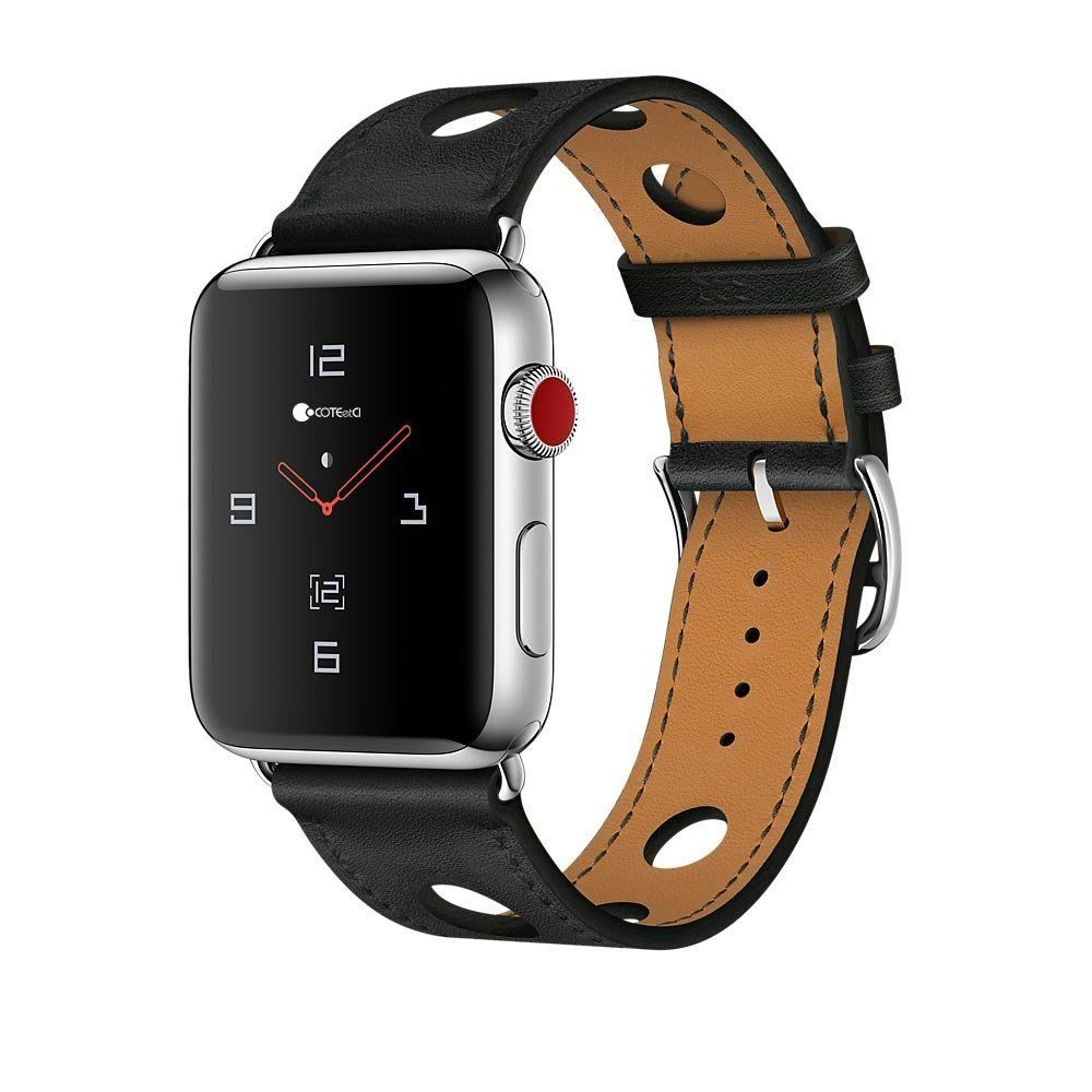 Ремешок COTEetCI Fashion W15 Leather for Apple Watch 38/40mm Black (WH5220-BK)