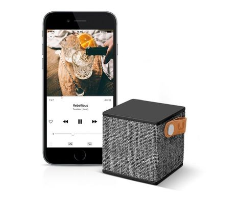 Fresh 'N Rebel Rockbox Cube Fabriq Edition Bluetooth Speaker Ruby (1RB1000RU), цена | Фото