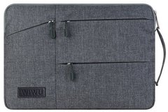Чехол WIWU Pocket Sleeve for MacBook 12 - Gray, цена | Фото