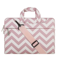 Сумка Mosiso Chevron Slim Bag for MacBook 13.3 inch - Pink, цена | Фото