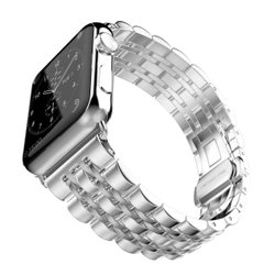 Металлический ремешок STR 7-Bead Metal Band for Apple Watch 38/40 mm - Black, цена | Фото